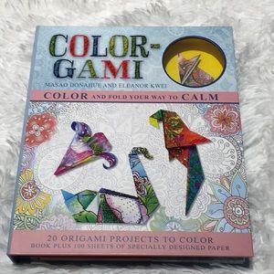 ColorGami- Origami Book and Paper NWT